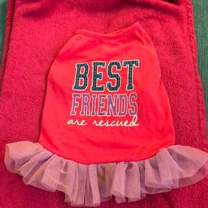 Dresses & Skirts - Luv a pet best friends are rescued dress